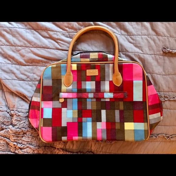 BCBGMaxAzria Handbags - Vintage BCBG multicolored weekender